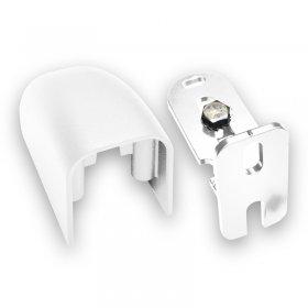 Kit gond et carénage étroit aluminium laqué Blanc RAL 9016 Brillant